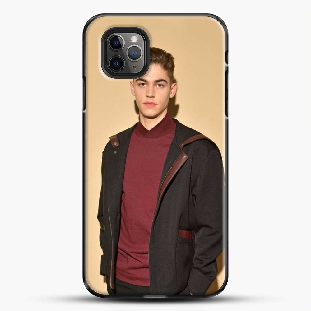 Hero Fiennes Tiffin Handsome Man iPhone 11 Pro Max Case, Black Plastic Case | JoeYellow.com