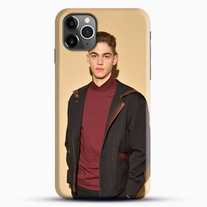 Hero Fiennes Tiffin Handsome Man iPhone 11 Pro Max Case, Black Snap 3D Case | JoeYellow.com