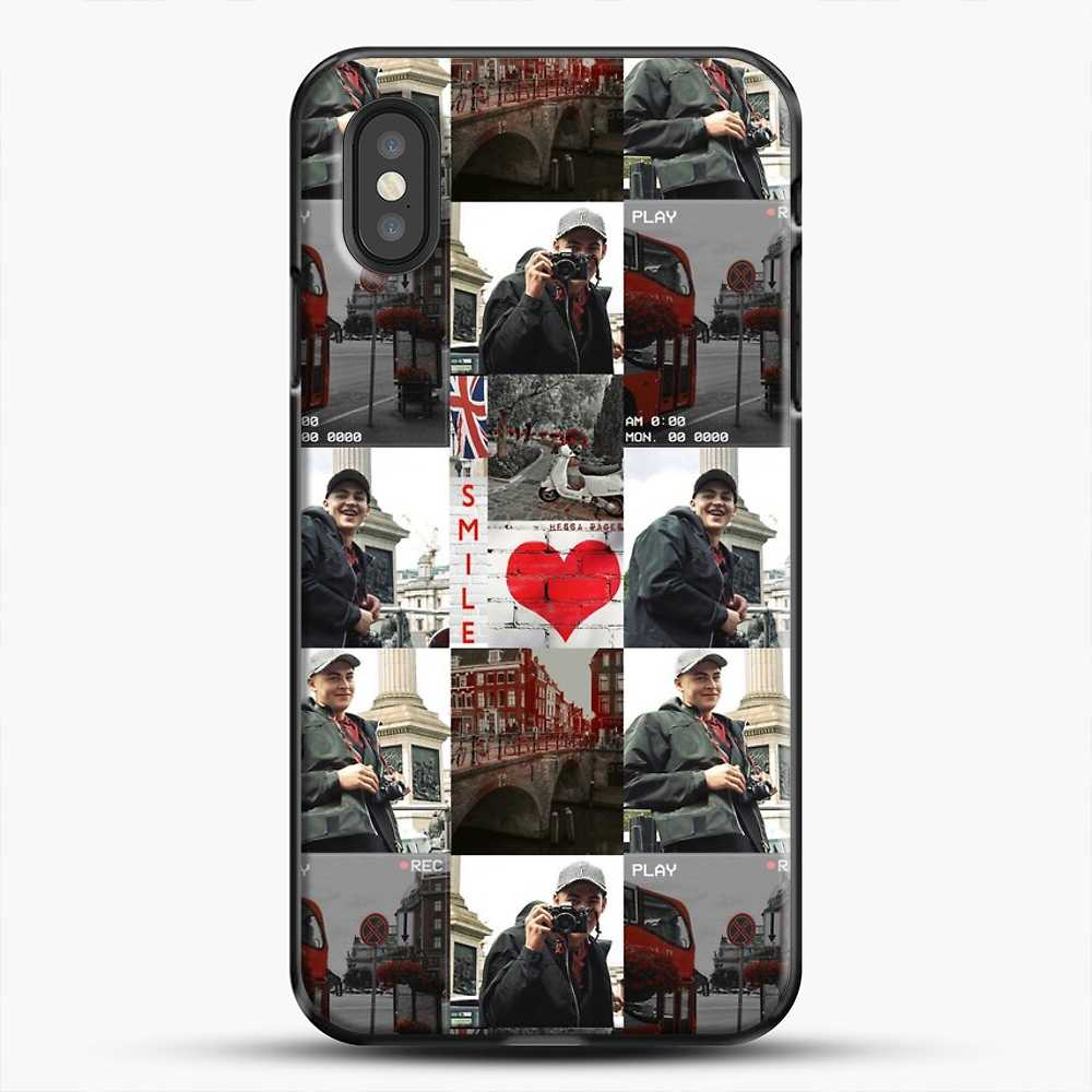 Hero Fiennes Tiffin London Boy At Heart iPhone XS Case, Black Plastic Case | JoeYellow.com