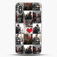 Load image into Gallery viewer, Hero Fiennes Tiffin London Boy At Heart iPhone XS Case, White Plastic Case | JoeYellow.com