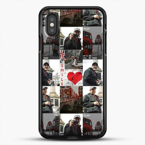 Hero Fiennes Tiffin London Boy At Heart iPhone XS Case, Black Rubber Case | JoeYellow.com