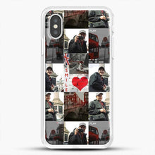 Load image into Gallery viewer, Hero Fiennes Tiffin London Boy At Heart iPhone XS Case, White Rubber Case | JoeYellow.com