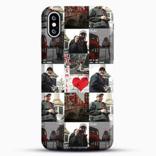 Load image into Gallery viewer, Hero Fiennes Tiffin London Boy At Heart iPhone XS Case, Black Snap 3D Case | JoeYellow.com