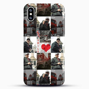Hero Fiennes Tiffin London Boy At Heart iPhone XS Case, Black Snap 3D Case | JoeYellow.com