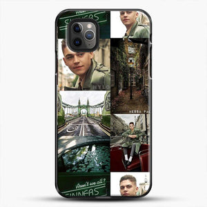 Hero Fiennes Tiffin London Green iPhone 11 Pro Max Case, Black Plastic Case | JoeYellow.com