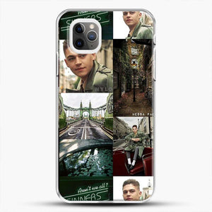 Hero Fiennes Tiffin London Green iPhone 11 Pro Max Case, White Plastic Case | JoeYellow.com