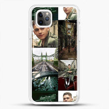 Load image into Gallery viewer, Hero Fiennes Tiffin London Green iPhone 11 Pro Max Case, White Rubber Case | JoeYellow.com