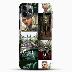 Hero Fiennes Tiffin London Green iPhone 11 Pro Max Case, Black Snap 3D Case | JoeYellow.com