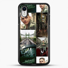 Load image into Gallery viewer, Hero Fiennes Tiffin London Green iPhone XR Case, Black Rubber Case | JoeYellow.com