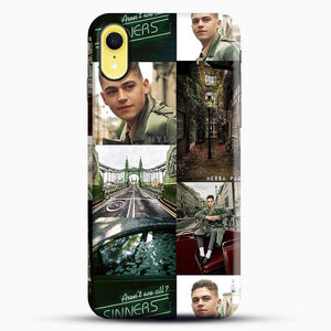 Hero Fiennes Tiffin London Green iPhone XR Case, Black Snap 3D Case | JoeYellow.com