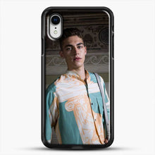 Load image into Gallery viewer, Hero Fiennes Tiffin Model Friends iPhone XR Case, Black Rubber Case | JoeYellow.com
