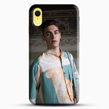 Load image into Gallery viewer, Hero Fiennes Tiffin Model Friends iPhone XR Case, Black Snap 3D Case | JoeYellow.com