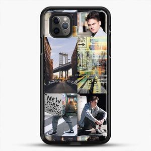 Hero Fiennes Tiffin Nyc iPhone 11 Pro Max Case, Black Rubber Case | JoeYellow.com