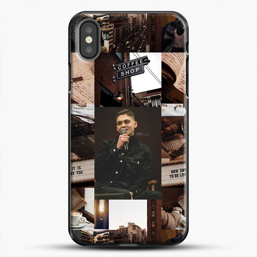 Hero Fiennes Tiffin Vintage iPhone X Case, Black Plastic Case | JoeYellow.com