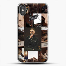 Load image into Gallery viewer, Hero Fiennes Tiffin Vintage iPhone X Case, White Plastic Case | JoeYellow.com