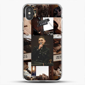 Hero Fiennes Tiffin Vintage iPhone X Case, White Plastic Case | JoeYellow.com