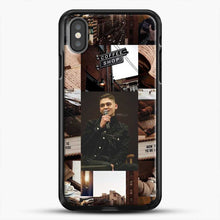 Load image into Gallery viewer, Hero Fiennes Tiffin Vintage iPhone X Case, Black Rubber Case | JoeYellow.com