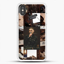Load image into Gallery viewer, Hero Fiennes Tiffin Vintage iPhone X Case, White Rubber Case | JoeYellow.com