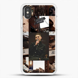 Hero Fiennes Tiffin Vintage iPhone X Case, White Rubber Case | JoeYellow.com
