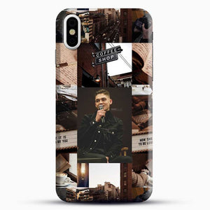 Hero Fiennes Tiffin Vintage iPhone X Case, Black Snap 3D Case | JoeYellow.com