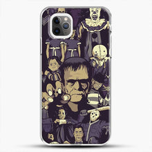 Load image into Gallery viewer, Horror Collection De Terror Parconhector iPhone 11 Pro Max Case, White Plastic Case | JoeYellow.com
