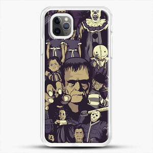 Horror Collection De Terror Parconhector iPhone 11 Pro Max Case, White Rubber Case | JoeYellow.com