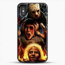 Load image into Gallery viewer, Horror Collection Friday The 13Th Art iPhone XS Case, Black Plastic Case | JoeYellow.com