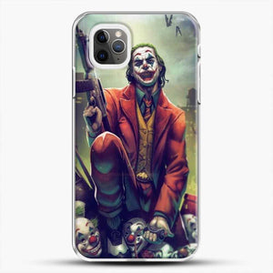 Horror Collection Honk Honk iPhone 11 Pro Max Case, White Plastic Case | JoeYellow.com