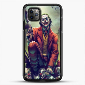 Horror Collection Honk Honk iPhone 11 Pro Max Case, Black Rubber Case | JoeYellow.com