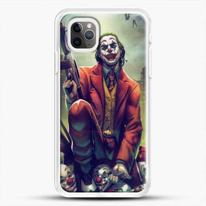 Horror Collection Honk Honk iPhone 11 Pro Max Case, White Rubber Case | JoeYellow.com