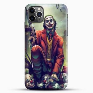 Horror Collection Honk Honk iPhone 11 Pro Max Case, Black Snap 3D Case | JoeYellow.com
