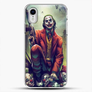 Horror Collection Honk Honk iPhone XR Case, White Plastic Case | JoeYellow.com