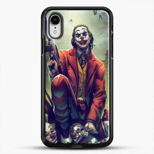 Horror Collection Honk Honk iPhone XR Case, Black Rubber Case | JoeYellow.com