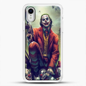 Horror Collection Honk Honk iPhone XR Case, White Rubber Case | JoeYellow.com