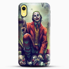 Load image into Gallery viewer, Horror Collection Honk Honk iPhone XR Case, Black Snap 3D Case | JoeYellow.com