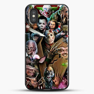 Horror Collection Horror Movie iPhone XS Case, Black Plastic Case | JoeYellow.com