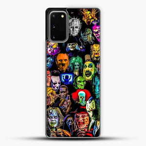 Horror Collection Samsung Galaxy S20 Case, Black Plastic Case | JoeYellow.com