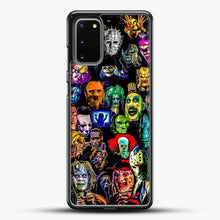 Load image into Gallery viewer, Horror Collection Samsung Galaxy S20 Case, Black Rubber Case | JoeYellow.com