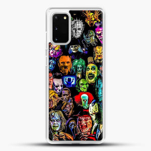 Horror Collection Samsung Galaxy S20 Case, White Rubber Case | JoeYellow.com