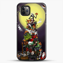 Load image into Gallery viewer, Horror Collection The Nightmare Before Christmas iPhone 11 Pro Max Case, Black Plastic Case | JoeYellow.com