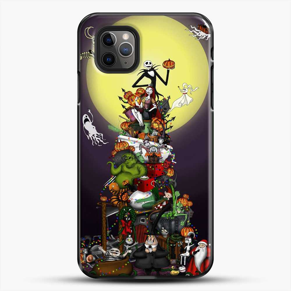 Horror Collection The Nightmare Before Christmas iPhone 11 Pro Max Case, Black Plastic Case | JoeYellow.com
