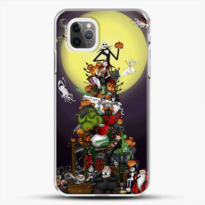 Horror Collection The Nightmare Before Christmas iPhone 11 Pro Max Case, White Plastic Case | JoeYellow.com