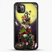 Load image into Gallery viewer, Horror Collection The Nightmare Before Christmas iPhone 11 Pro Max Case, Black Rubber Case | JoeYellow.com