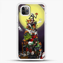 Load image into Gallery viewer, Horror Collection The Nightmare Before Christmas iPhone 11 Pro Max Case, White Rubber Case | JoeYellow.com