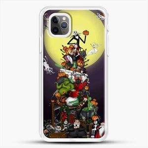 Horror Collection The Nightmare Before Christmas iPhone 11 Pro Max Case, White Rubber Case | JoeYellow.com