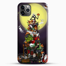 Load image into Gallery viewer, Horror Collection The Nightmare Before Christmas iPhone 11 Pro Max Case, Black Snap 3D Case | JoeYellow.com