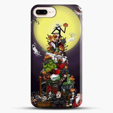 Horror Collection The Nightmare Before Christmas iPhone 7 Plus Case, Black Snap 3D Case | JoeYellow.com