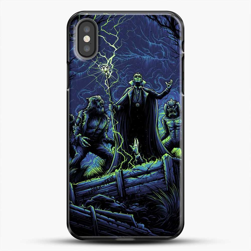 Horror Collection Wake Up Old Friend iPhone X Case, Black Plastic Case | JoeYellow.com