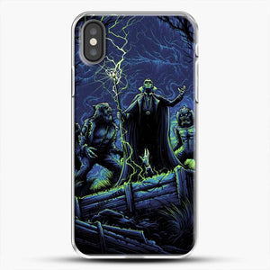 Horror Collection Wake Up Old Friend iPhone X Case, White Plastic Case | JoeYellow.com