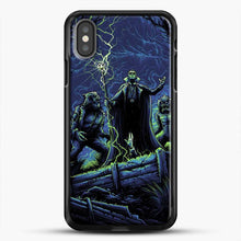 Load image into Gallery viewer, Horror Collection Wake Up Old Friend iPhone X Case, Black Rubber Case | JoeYellow.com